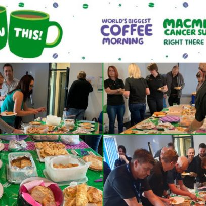Mersen UK Teesside in Stockton-On-Tees macmillan coffee