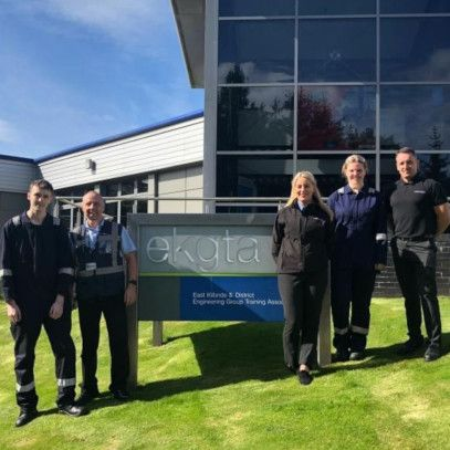 Mersen Scotland apprentices