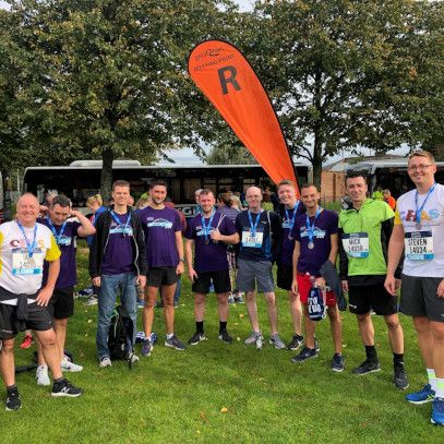 Mersen Scotland Holytown: raising money at the Great Scottish Run