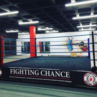 Boxing Gym Adrian Teesside