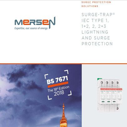 Surge protection brochure 2019